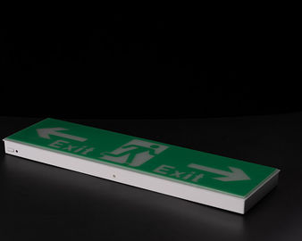 Plastic Casing Led Exit Signs Ni - Cd Battery Operated Emergency Exit Sign