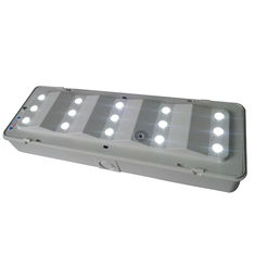 Commercial Building Exit Rechargeable LED Emergency Lights For 3 Hours Duration