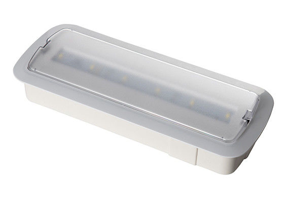 Indoor 220V Wall Recessed Standby Building Emergency Lights With 3 Hours Operation